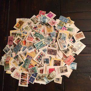 US Postage Stamps Grab Bag  (300+)